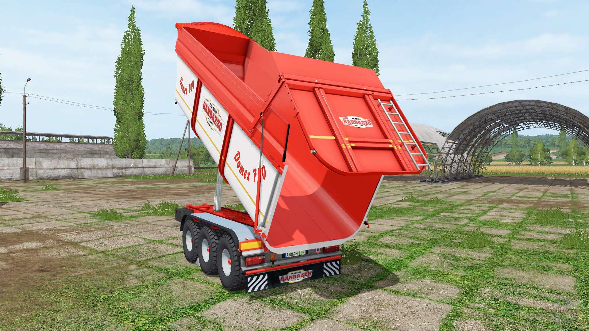 Rimorchi randazzo tr70 v1 0 1 4 pour farming simulator 2017 for Rimorchi randazzo