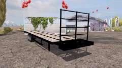 Flatebed trailer pour Farming Simulator 2013