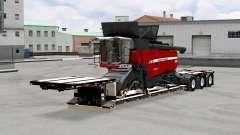 Bas de balayage XL 90 MDE avec des charges v5.0 pour American Truck Simulator