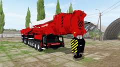 Liebherr LTM 11200-9.1 Mammoet speed lift pour Farming Simulator 2017