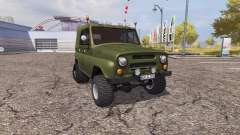 UAZ 469 half-track