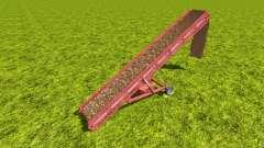 Conveyor belt for wood chips v1.1