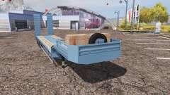 Lowboy blue für Farming Simulator 2013