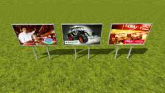 Hungarian advertising signs pour Farming Simulator 2015