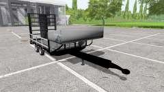 Small utility trailer pour Farming Simulator 2017