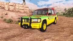 Gavril Roamer Tour Car Jurassic Park v0.7 pour BeamNG Drive