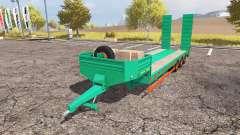 Aguas-Tenias lowboy 3-axis pour Farming Simulator 2013