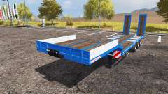 Schwarzmueller lowboy pour Farming Simulator 2013