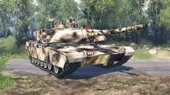 M1 Abrams desert camo