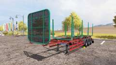 Kogel timber trailer