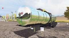 Fertilizer trailer