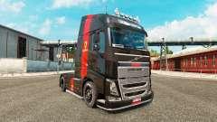 Ferrari skin für den Volvo truck