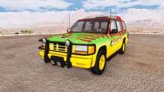 Gavril Roamer Tour Car Jurassic Park pour BeamNG Drive