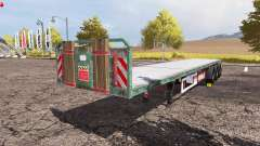 Kogel flatbed trailer