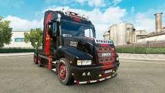 La peau de Ferrari sur le camion Iveco Strator