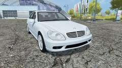 Mercedes-Benz S65 AMG V12 Biturbo (W220) 2005 für Farming Simulator 2013