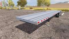 Manac flatbed trailer pour Farming Simulator 2013