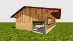 Woodchip bunker v0.1 für Farming Simulator 2015