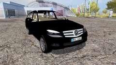 Mercedes-Benz C320 CDI Estate (S204) FBI pour Farming Simulator 2013