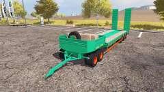 Aguas-Tenias lowboy 5-axis pour Farming Simulator 2013