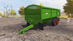 Griffiths tipper trailer
