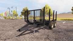 Forestry trailer pour Farming Simulator 2013