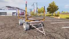 Timber trailer für Farming Simulator 2013