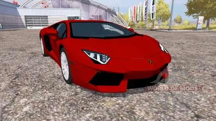 Lamborghini Aventador LP 700-4 (LB834) pour Farming Simulator 2013