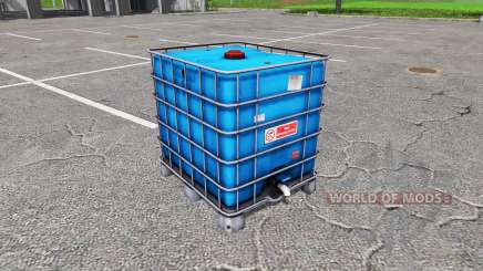 AUER Packaging IBC container water für Farming Simulator 2017
