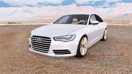 Audi A6 (C7) v1.1 pour BeamNG Drive
