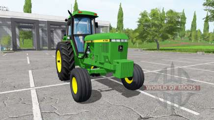 John Deere 4760 pour Farming Simulator 2017