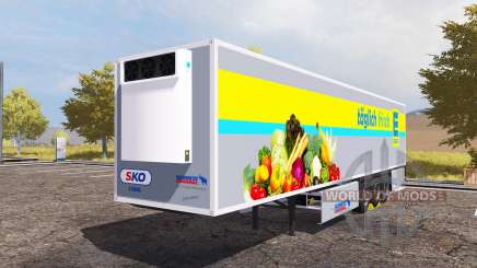 Schmitz Cargobull S.KO Cool EDEKA pour Farming Simulator 2013