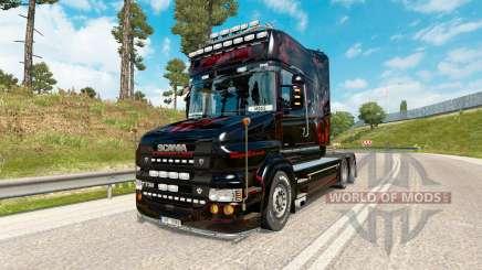 Prédateur de la peau pour le camion de Scania série T pour Euro Truck Simulator 2