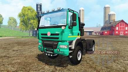 Tatra Phoenix T 158 4x4 pour Farming Simulator 2015