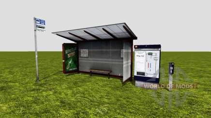 Bus stop pour Farming Simulator 2015