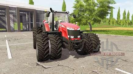 Massey Ferguson 8737 für Farming Simulator 2017