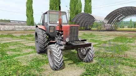 Le biélorusse MTZ 82 v3.1 pour Farming Simulator 2017