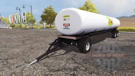 Fertilizer trailer v1.1 pour Farming Simulator 2013