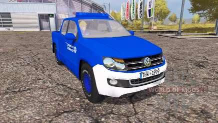 Volkswagen Amarok Double Cab THW pour Farming Simulator 2013