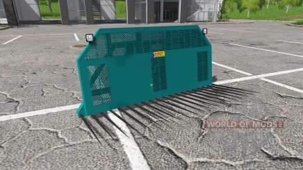 SIROT silage forks pour Farming Simulator 2017