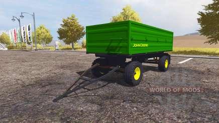 John Deere trailer für Farming Simulator 2013