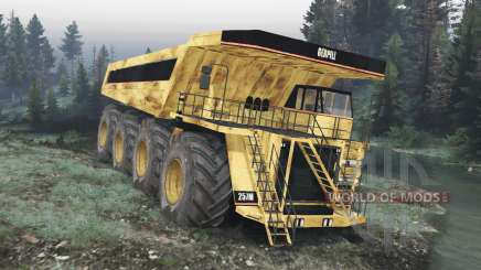 Dump truck 8x8 v1.1.2 pour Spin Tires