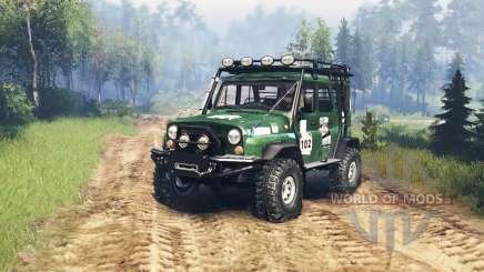 УАЗ 31514 TrophyStorm pour Spin Tires