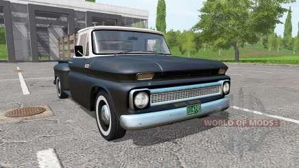 Chevrolet C10 Fleetside 1966 v1.1 für Farming Simulator 2017