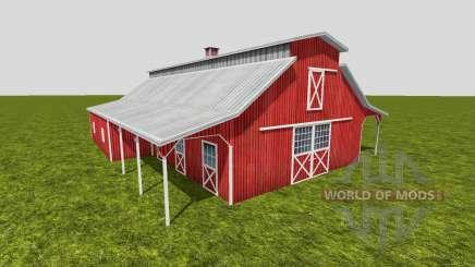 American barn v2 pour Farming Simulator 2015