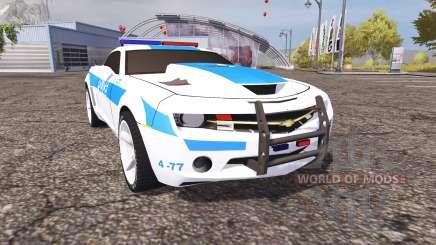 Chevrolet Camaro Police v2.0 für Farming Simulator 2013