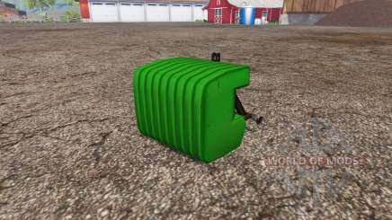 Switchable weight plates pour Farming Simulator 2015