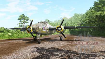 North American B-25 Mitchell v5.1 pour BeamNG Drive