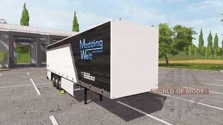 Schmitz Cargobull Modding Welt v1.1.0.1 pour Farming Simulator 2017