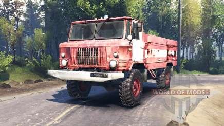 GAZ 66 AC 30 v2.0 pour Spin Tires